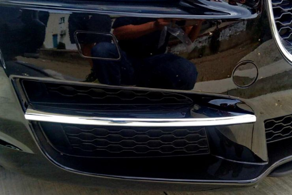 XE Lower Bumper Chrome Inserts
